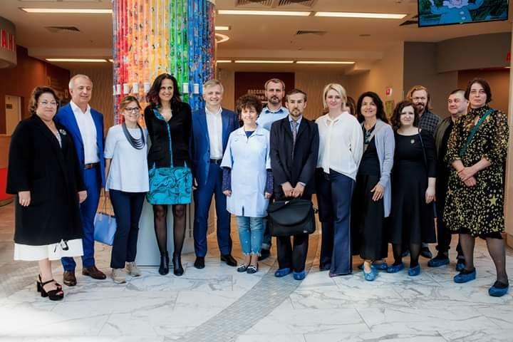 Сегодня, в Морозовской детской больнице состоялось открытие проекта «ARTерия»